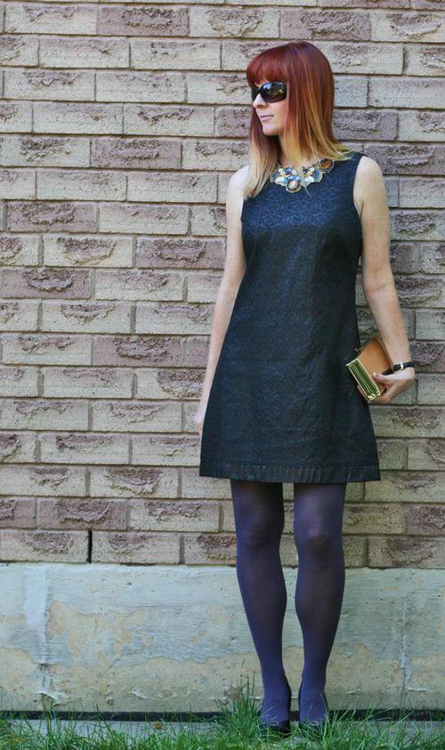 Black vintage cocktail dress