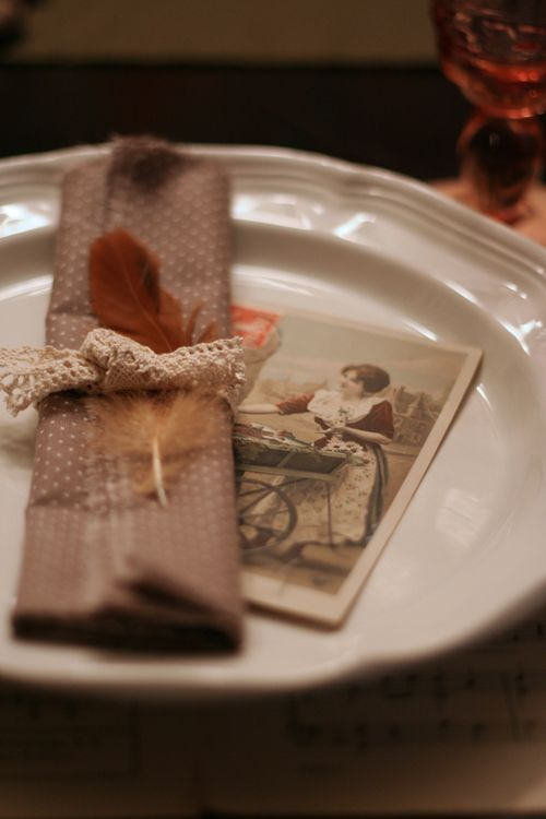 Thanksgiving napkin idea