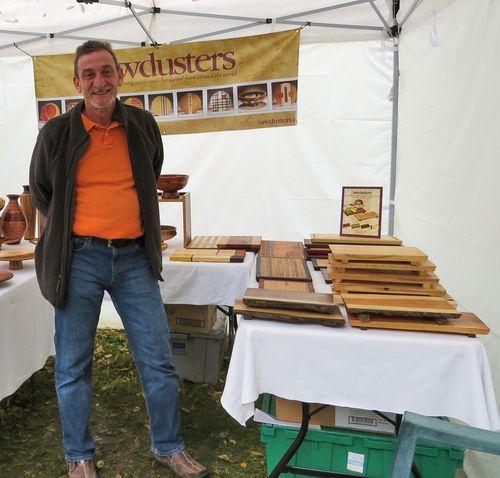 Wood work artist