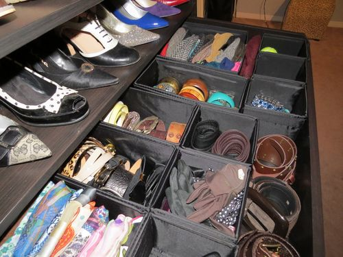Ikea drawer box organizing system for accessories