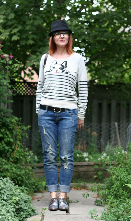 Top five frenchie sweater