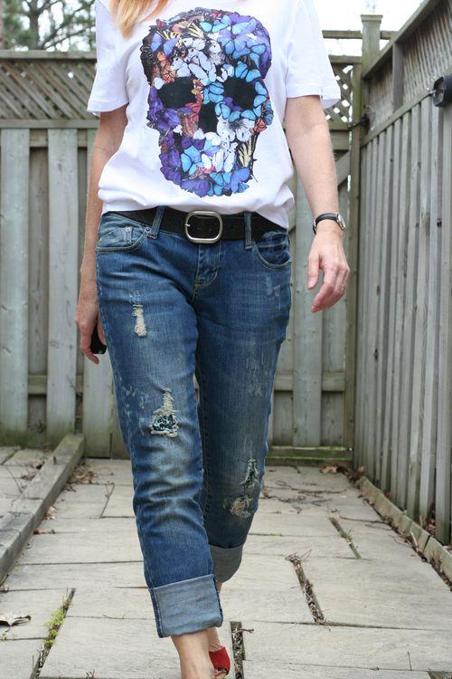 H&M butterfly t-shirt
