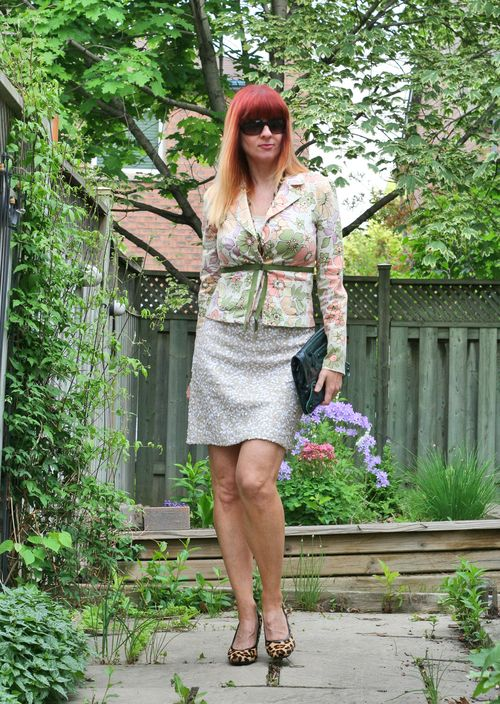 Wet seal floral blazer summer dressing over 40 suzanne carillo style files