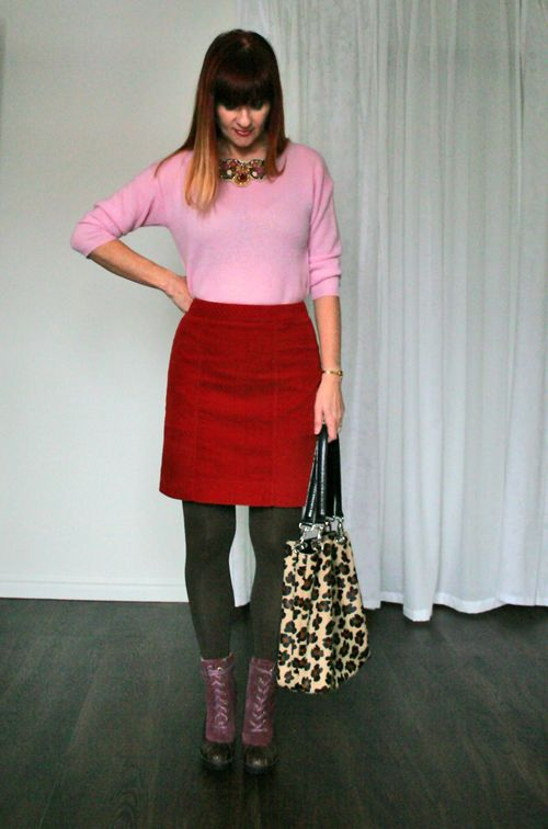 Pink pastel sweater Suzanne Carillo