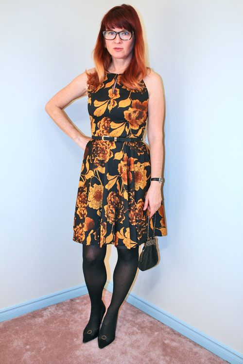 Fit and flare dress what to wear when you are feeling bloated suzanne carillo style files