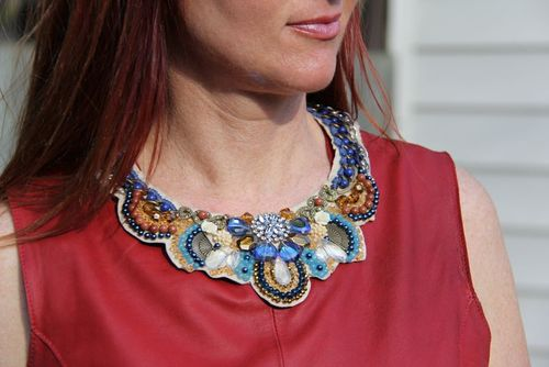 What to wear on a fat day statement jewelry