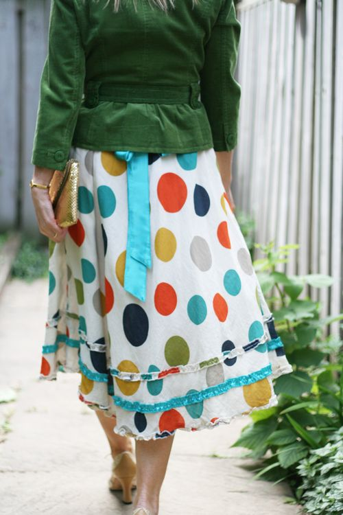 Yumi polka dot dress for summer what to wear over 40 suzanne carillo style files
