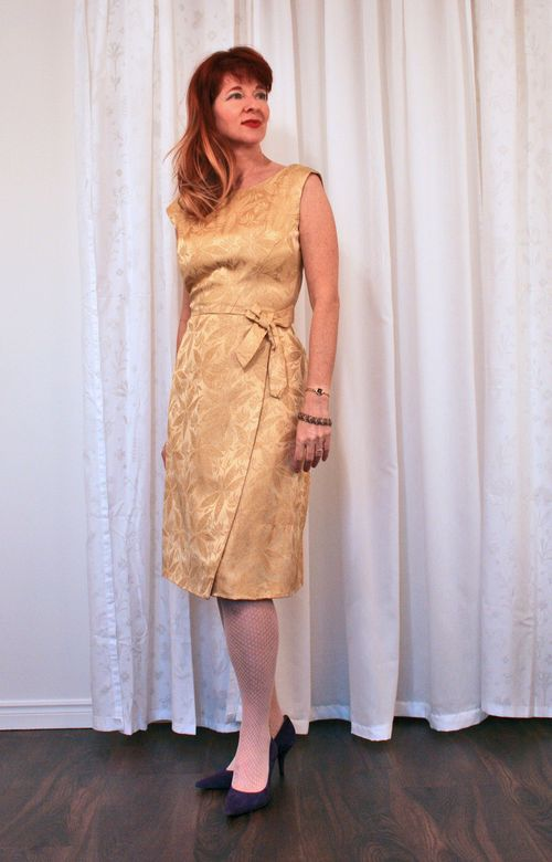 1960s vintage cocktail dress