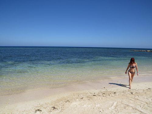 Bikini on beach