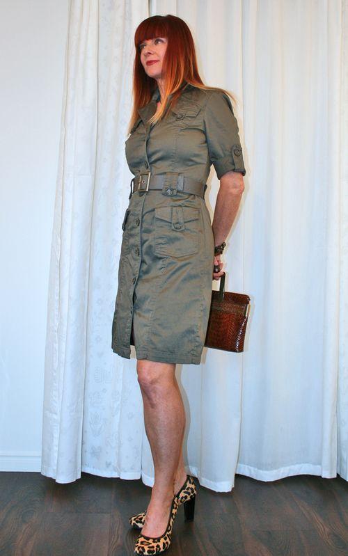 RW & Co green dress suzanne carillo style files
