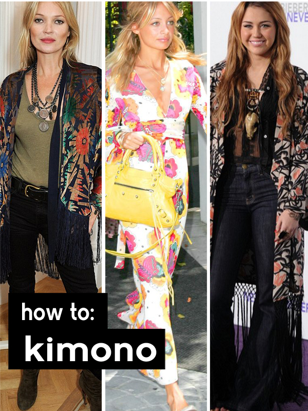 How to style your Kimono