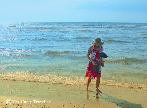 Walking along the beach the netherlands suzanne carillo style files
