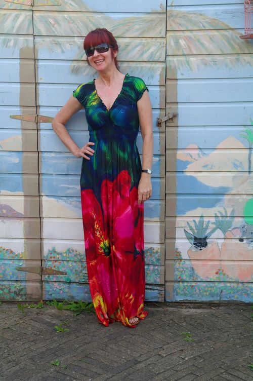 Large floral maxi dress amsterdam suzanne carillo style files