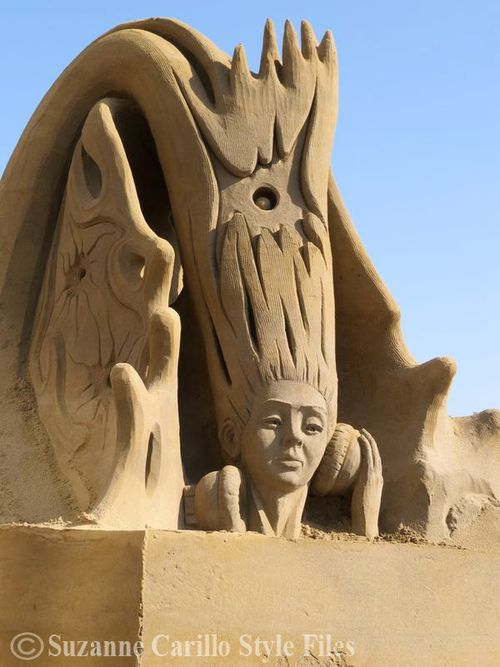 Woman sand sculpture netherlands suzanne carillo style files copy