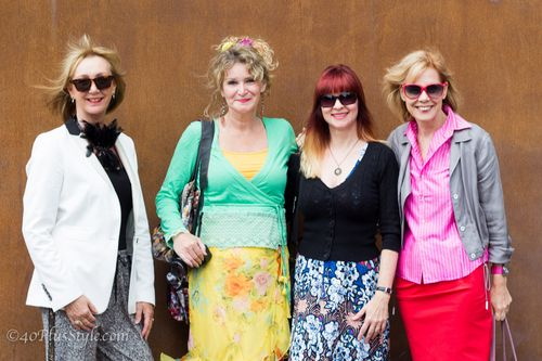 Four bloggers suzanne carillo style files no fear of fashion the curly traveller 40plus style
