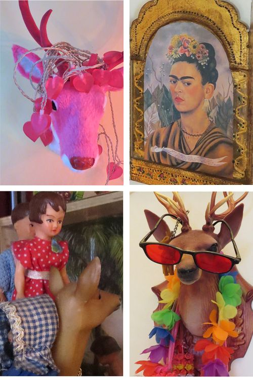 Anja's house art collage2
