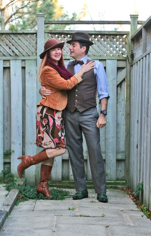 How to dress in vintage for men how to wear a vintage hat and bowtie