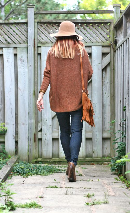 How to style an oversized sweater for autumn suzanne carillo style files