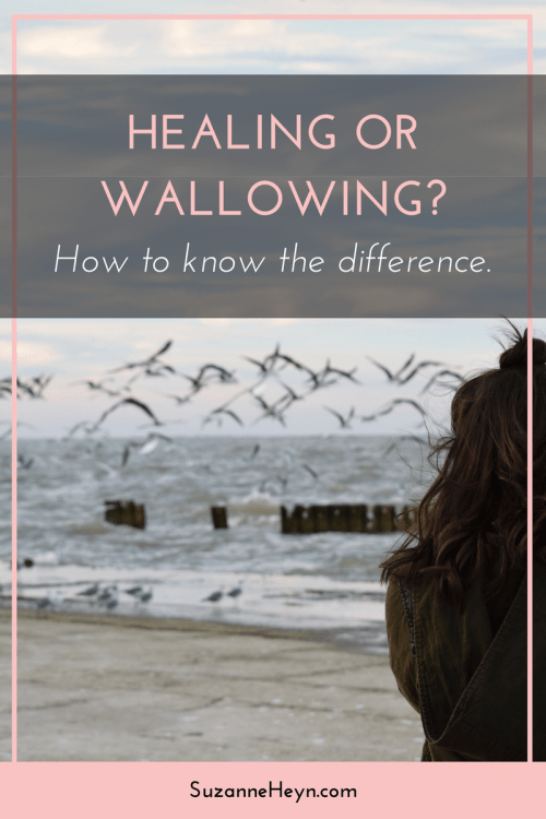 Healing or wallowing? Click through to learn the difference.