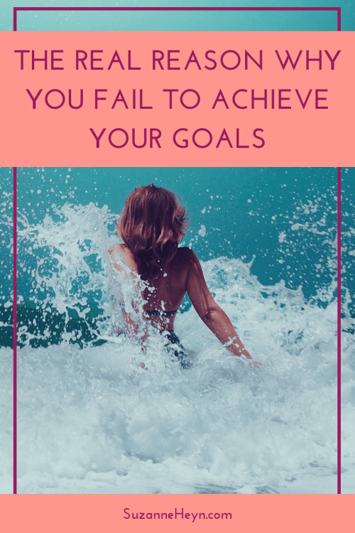 Don't fail to achieve your goals. read this instead. spirituality personal development manifest