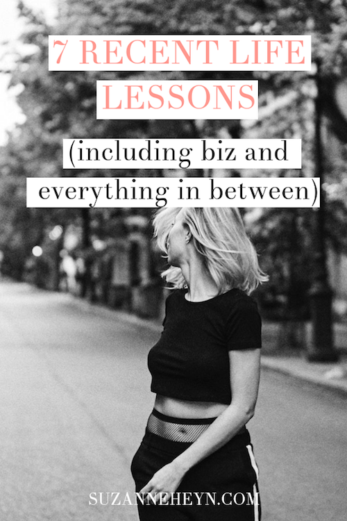These surprising recent life lessons were learned while following my heart and building a spiritual business. They relate to manifesting what you want, learning to believe in yourself, and handling guilt!