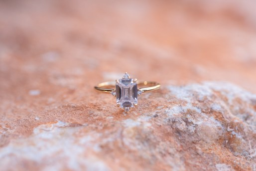 Desert Wedding ring shot Suzanne Lytle Photography