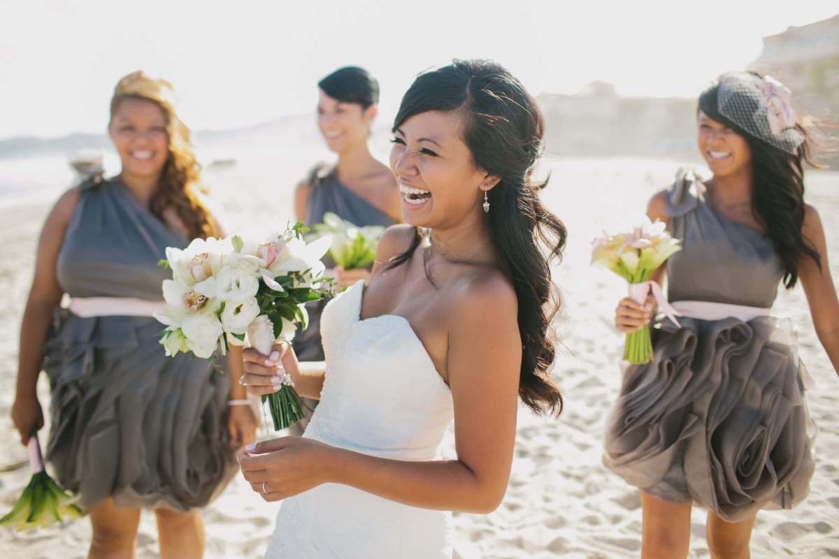 Bridal party hair and make-up Los Cabos professional vendor Suzanne Morel