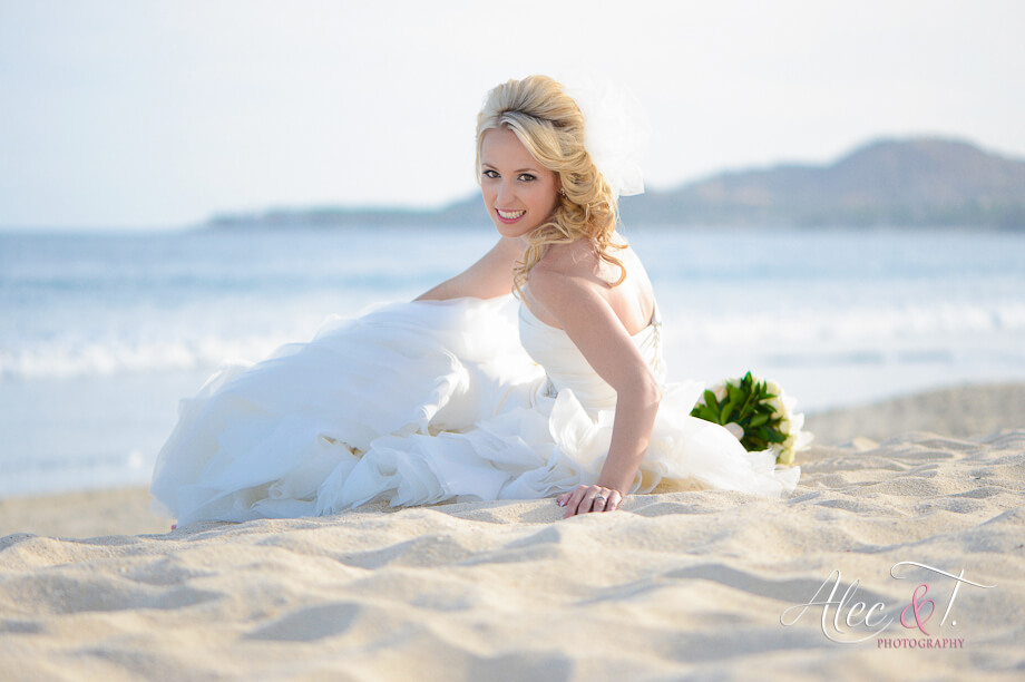 Los Cabos wedding hair and make-up Mexico by Alec & T