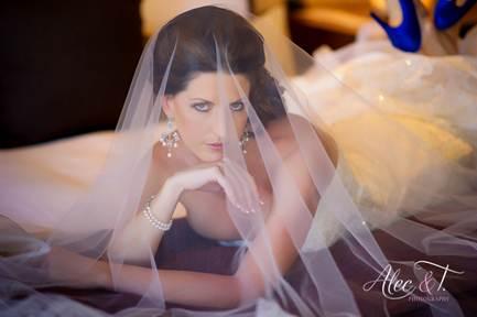 Perfect bridal hair and makeup