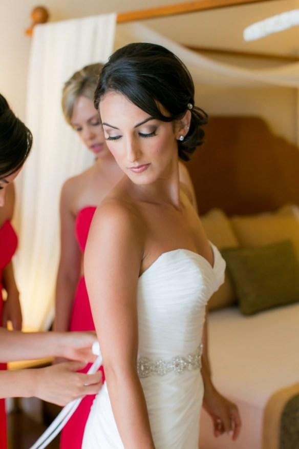 Cabo bridal makeup 2