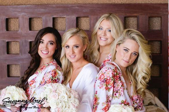 Bridesmaids Hair Makeup Cabo Destination Wedding