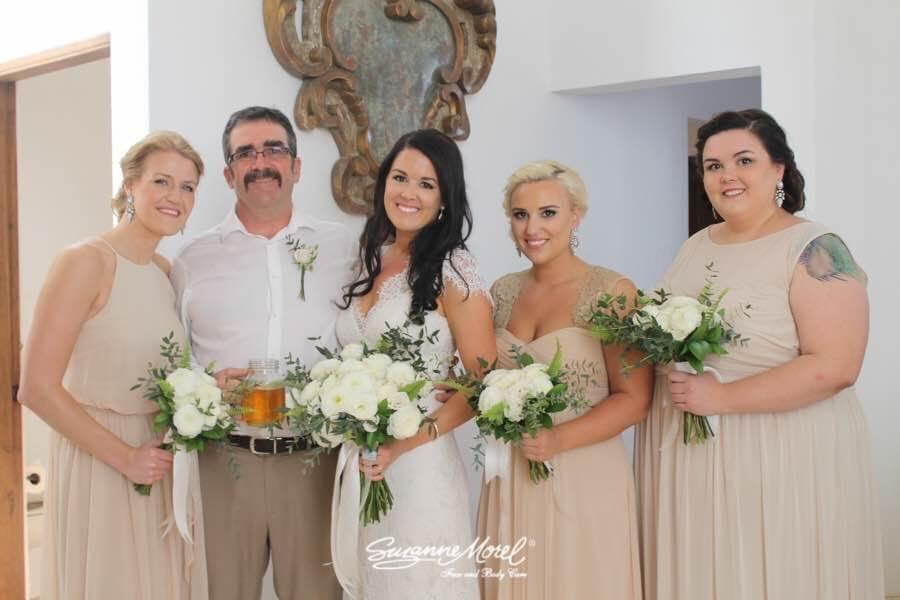 Cabo bridal hair