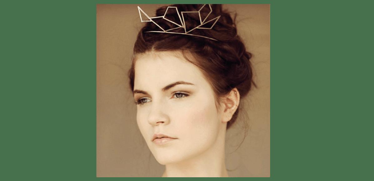 Bridal Hair Geometric Headpieces Suzanne Morel