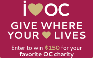 WIN! $150 to give to an OC nonprofit #iheartOC
