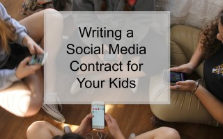 Writing A Social Media Contract for Your Kids