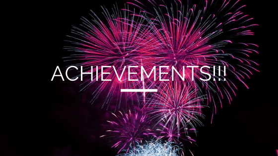 ACHIEVEMENTS!!!