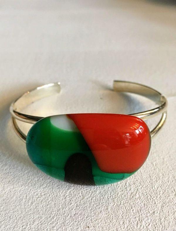 Bracelet glass jewellery