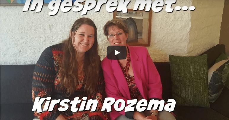 In gesprek met Kirstin Rozema