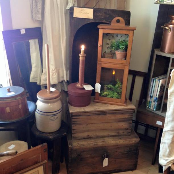 Trunks and Churn and other goodies at Covey House