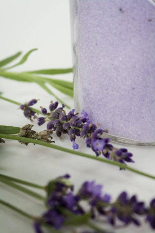 Suzanne's soaps Heavenly Lavender bath salt & mineral soak