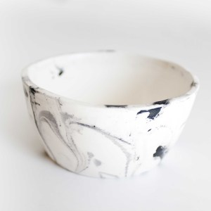 Hand made Marbled Shaving Cup