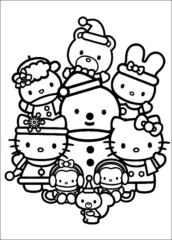 fox head coloring page christmas coloring