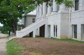 side entrance steps