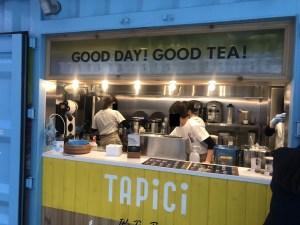 タピチ店頭風景