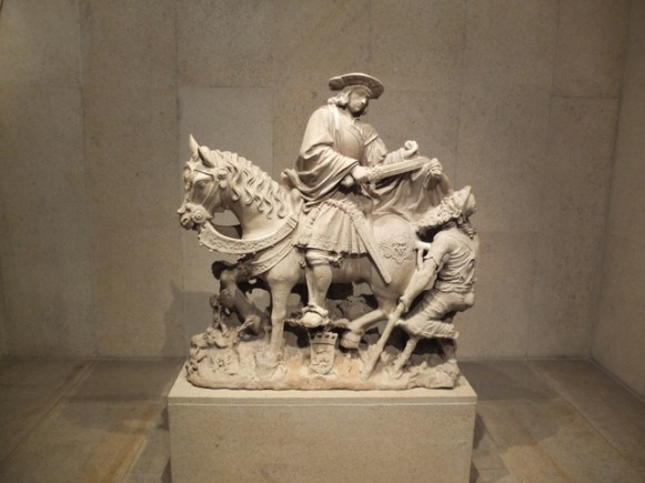 St Martin on Horseback, France, 1531.