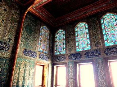 Inside the harem at Topkapi