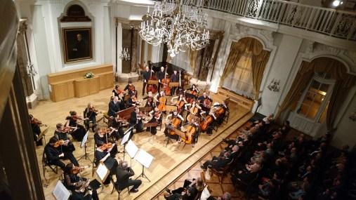 Klári playing the cello