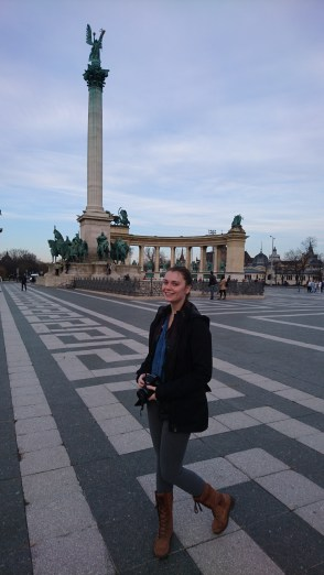 Anika in Heroes Square