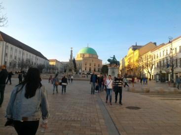 Pécs main square