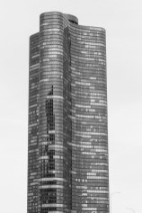 Building exterior of Lake Point Tower in Chicago